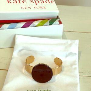 Kate Spade wide cuff bracelet